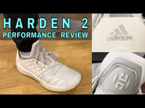 Adidas harden 2 shoe | performance review