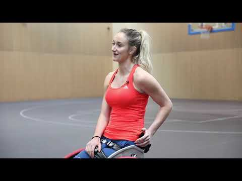 Amy conroy, team gb wheelchair basketball player   why maximuscle?