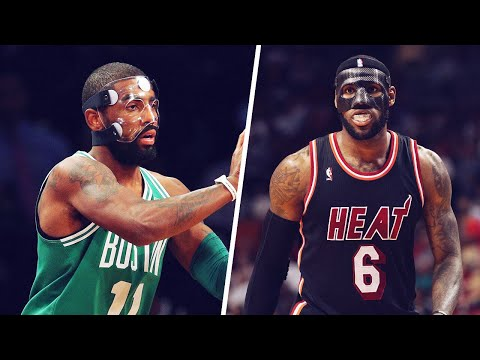 Why do nba players wear masks?   house of bounce