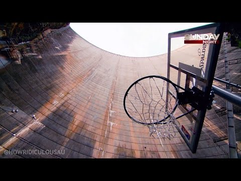 Exploding basketball! - how ridiculous