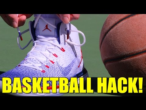Basketball hack: how to increase lockdown and prevent blisters in any sneaker!