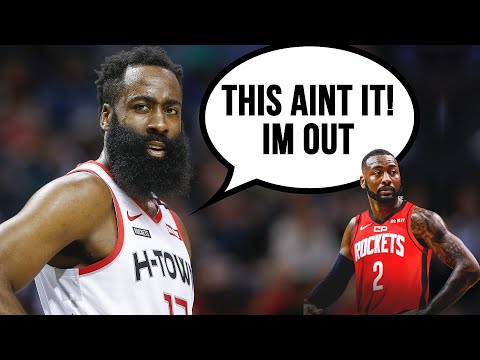 Why james harden is leaving houston very soon
