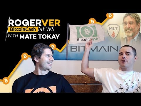Bitcoin cash news with roger ver - triathlon sponsorship, hackers support bch, bch devcon & more