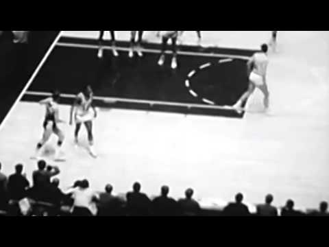 """Why many 60s-70s nba players don't crossover or display """"handles"""" (stricter palming calls)"""