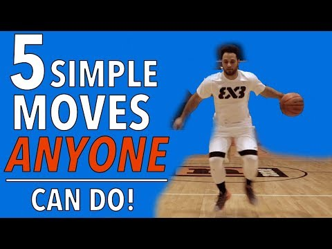 5 simple basketball moves anyone can do!