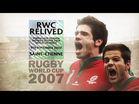 Most passionate national anthem ever?   portugal at rwc 2007