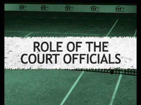 Officiating - role of the court officials