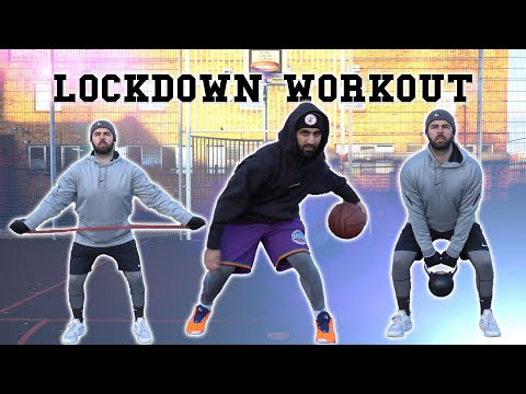 Get in shape for basketball during lockdown (outdoor workout) | the process.