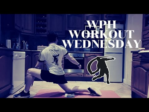 Niall o'connor featured with the wph workout wednesday