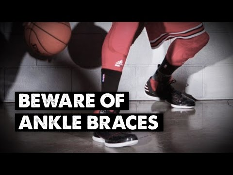 Basketball players - beware of ankle braces!