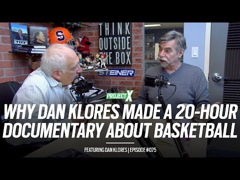 """Why dan klores created """"basketball: a love story"""" with hoops legends - project x episode 075"""
