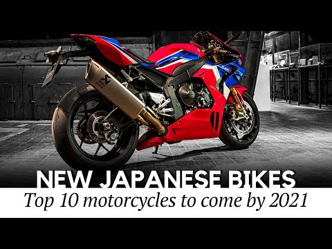 10 newest japanese motorcycles on sale by 2021 (latest news across various classes)
