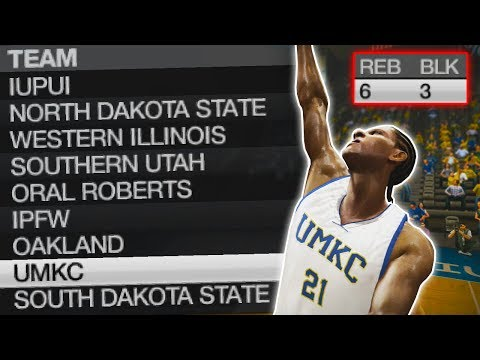 Best defender in the conference! | ncaa basketball 10 umkc dynasty ep. 13 (s2)