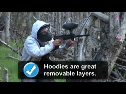 What to wear to play paintball for the first time.