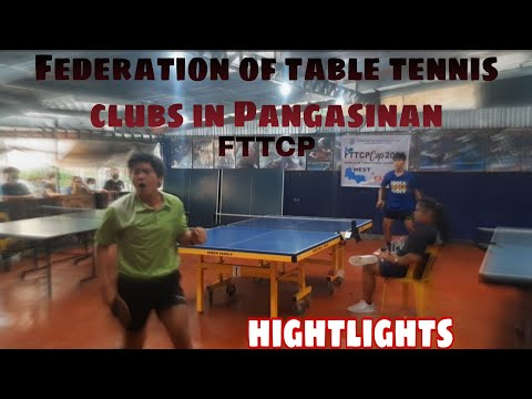 Fttcp eastern qualifying round highlights in table tennis 2021