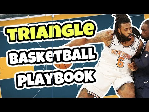 Complete triangle basketball offense plays playbook