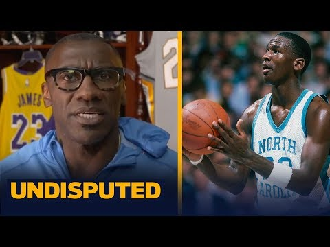 Michael jordan's legacy is the nba, nobody thinks he was the best in college — shannon   undisputed