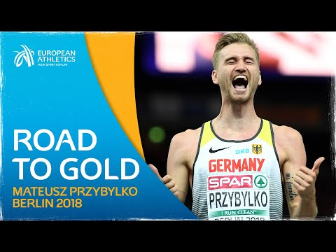 Mateusz przybylko leaps to berlin glory   road to gold