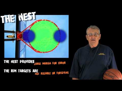 Target for shooting! -- aim for the nest -- how to shoot a basketball -- shot science