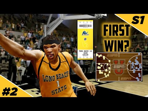 Does lbsu get first win in episode 2??! - lbsu   ncaa basketball 10 - ep 2