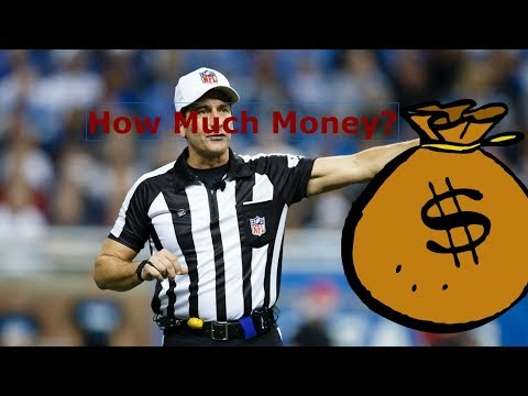 How much do nfl referees get paid?