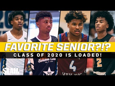 Who's your favorite senior hooper?!? 2020 class is loaded 🔥