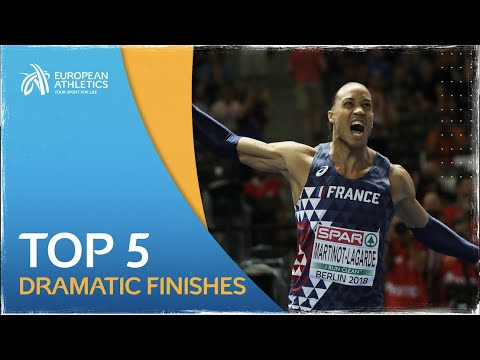 Top 5 dramatic finishes | berlin 2018 european championships