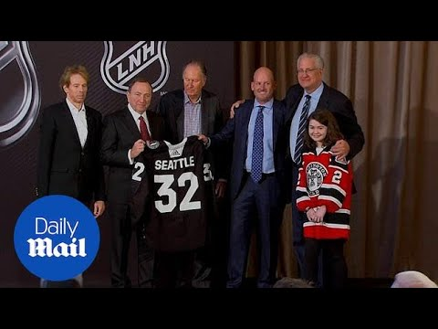 Seattle gets a hockey team as part of the nhl expansion