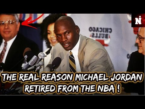 The real reason michael jordan retired from the nba!