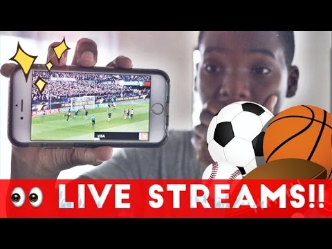 How to watch tv free on iphone (sports)