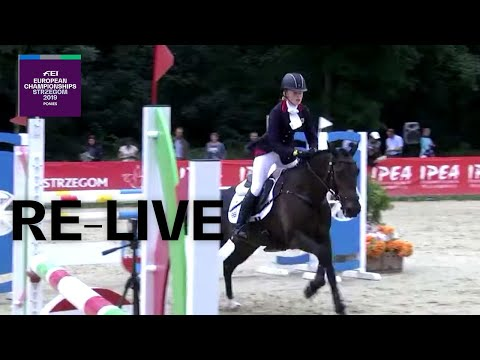 Re-live   eventing (jumping)   fei european championships for ponies 2019