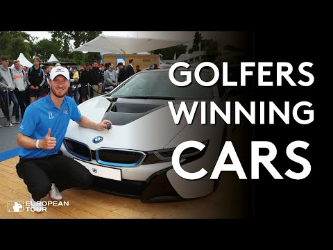 14 holes in one that won golfers bmw cars