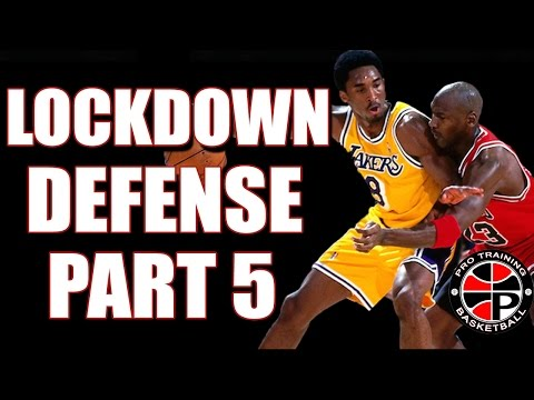 How to play lockdown defense pt. 5 | how to play post defense | pro training basketball