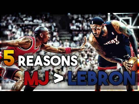 5 reasons why lebron james is not greater than michael jordan