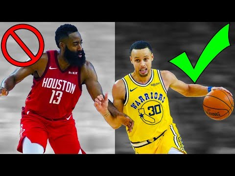 Why kids should play like stephen curry, not james harden