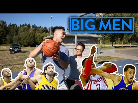 Basketball stereotypes: 5 types of big men you hate playing basketball with! | fung bros