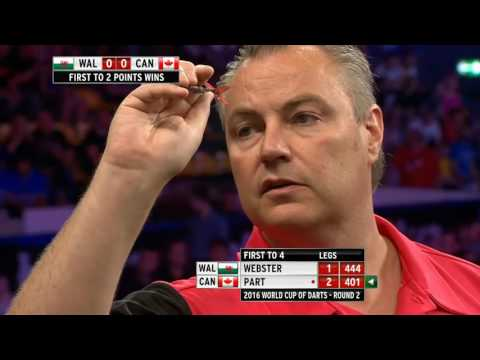 Wales v canada ᴴᴰ 2016 world cup of darts | round 2