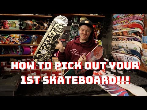 Picking your first skateboard at zumiez!!!   skate how to