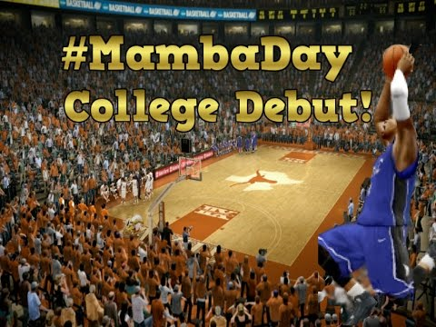 Ncaa basketball 10 - mycareer - truly's first college game! - #mambaday