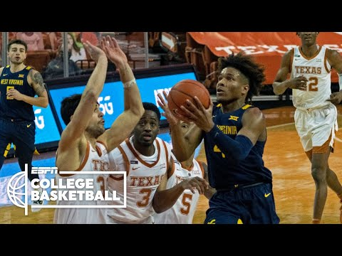 West virginia edges texas in top-15 matchup [full game highlights] | espn college basketball
