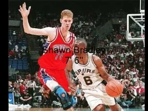 Top 10 tallest nba players ever