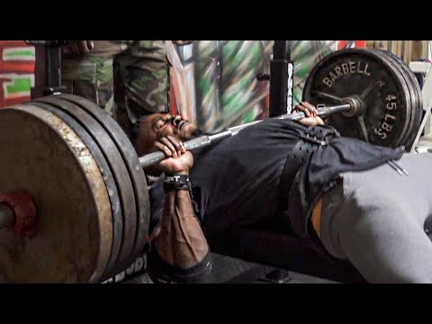 The bench press routine for strength | full reps & sets with mike rashid