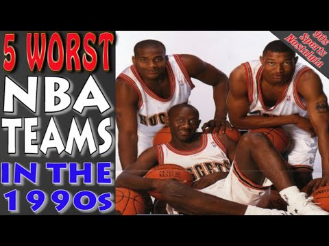 Top 5 worst nba teams in the 1990s