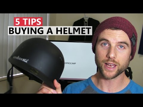5 tips for buying a helmet - snowboard gear