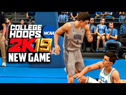 Ncaa basketball video game 2019 (gameplay preview!) mac mcclung vs shareef o'neal! | dominusiv
