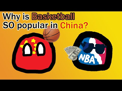 Why is basketball so popular in china?