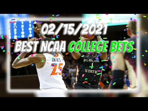 2/15/2021 - best college basketball picks | all free bets | $20 giveaway
