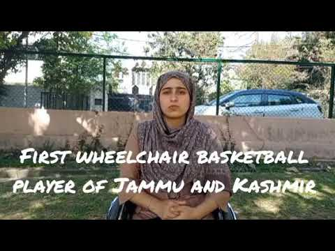 """Disability is in our head""""(watch first international wheelchair basketball player ishrat akther)"""