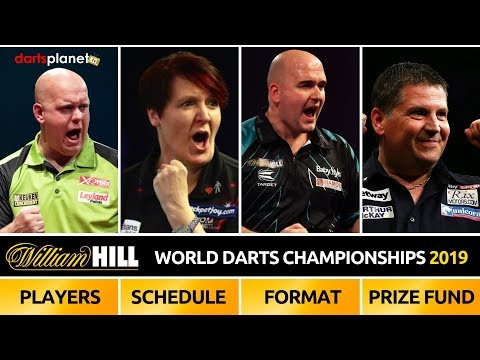 William hill world darts championships preview, players, schedule, format, prize fund