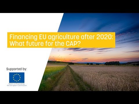 Financing eu agriculture after 2020: what future for the cap?